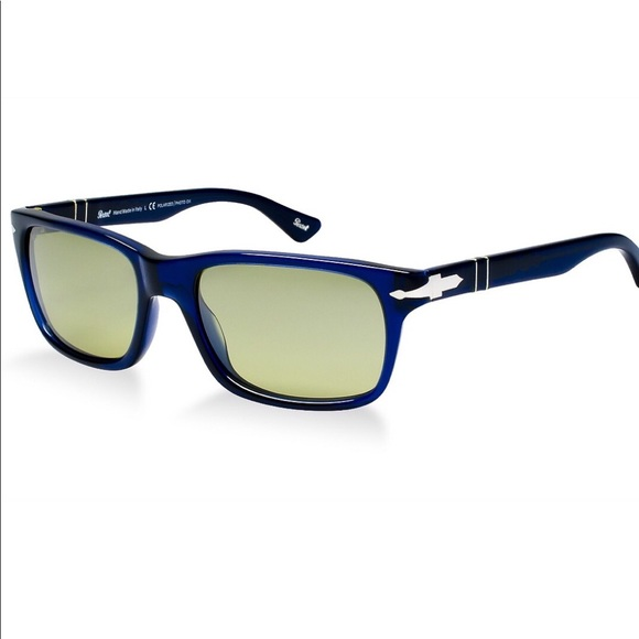 025bdb7a1b5 Men s Blue Persol Polarized Sunglasses 3048S. M 5aaf2d908df470fb9b50e201